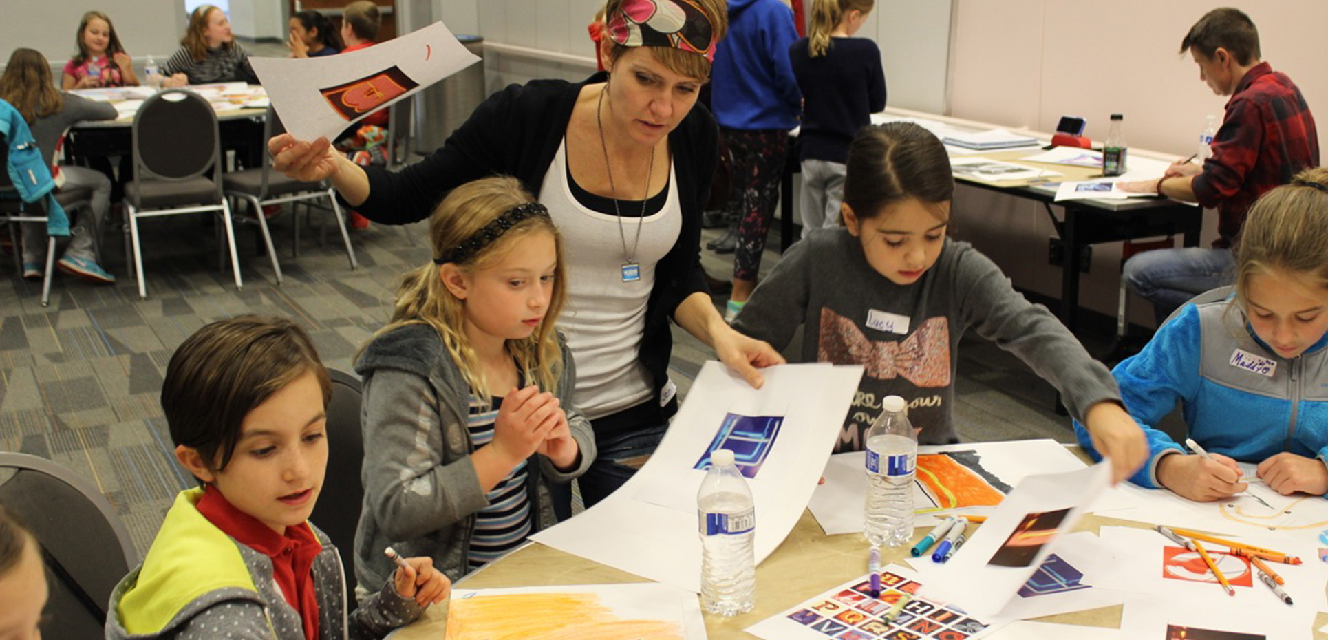 Kids In Harmony Putting Artistic Spin On Vine Street